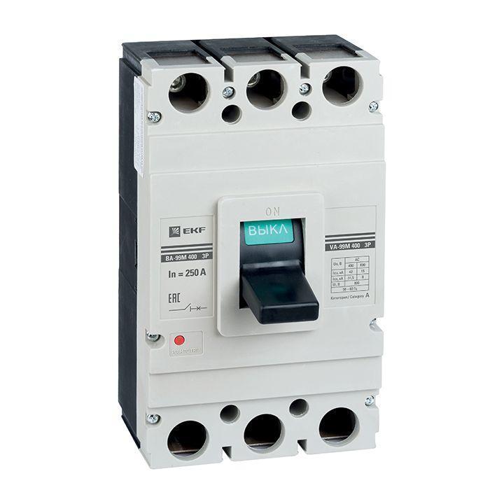 Выключатель автоматический 3п 400/315А 42кА ВА-99М PROxima EKF mccb99-400-315m