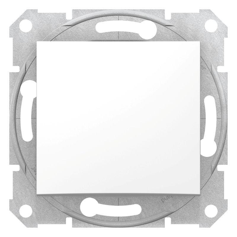 Механизм выключателя 1-кл. СП Sedna 10А IP20 (сх. 1) 250В бел. SchE SDN0100121