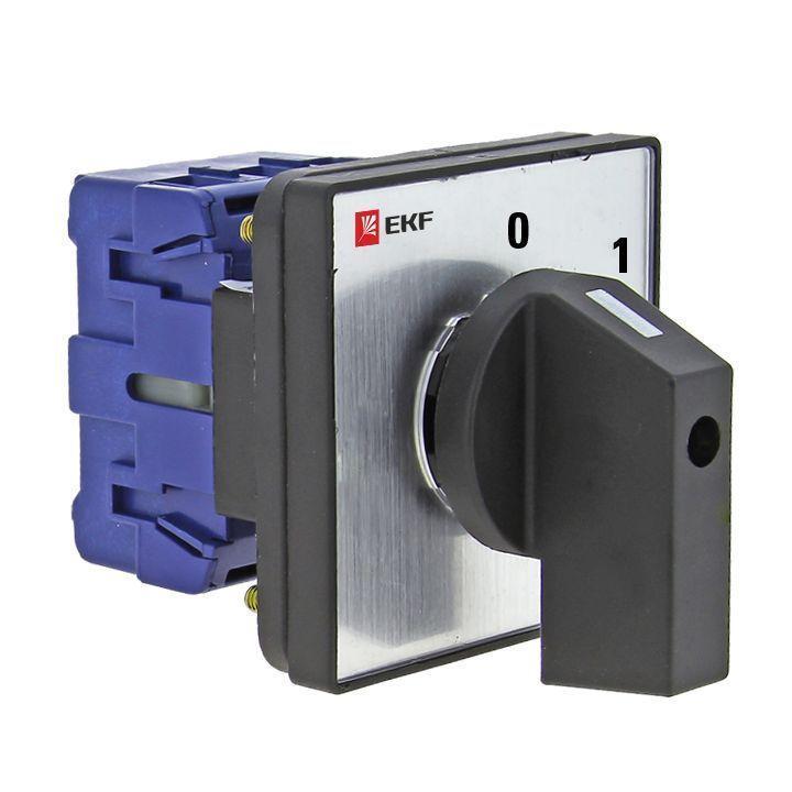 Переключатель кулачковый ПК-1-13 3П 25А 0-1; EKF pk-1-13-25