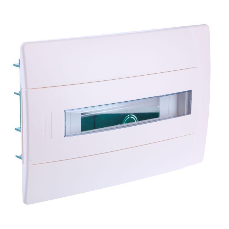 Бокс СП Practibox 1х12 мод. с шинами N и PE IP40 бел/бел. двер. Leg 601117
