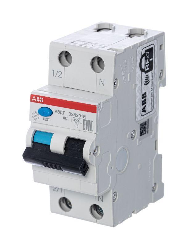 Выключатель автоматический дифференциального тока DSH201R C20 AC30 ABB 2CSR245072R1204
