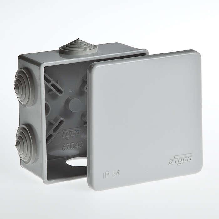 Коробка распределительная ОП 85х85х40мм IP54 Ruvinil 67040