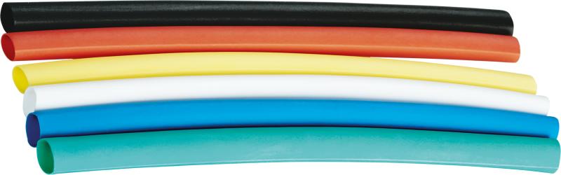 Набор трубок термоусадочных среднестен. NST-4/2-10-18 10ммх18шт 4/2 разноцвет. Navigator 71191