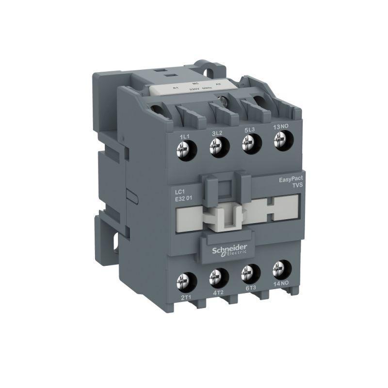 Контактор 3п 32А 1НЗ 400В AC3 220В 50Гц TeSys E SchE LC1E3201M5