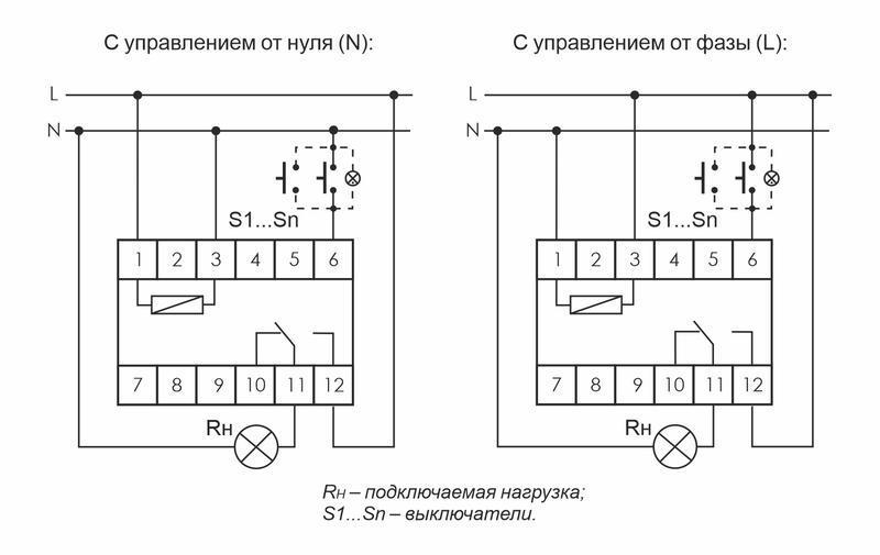 Реле импульсное BIS-411 (230В 16А 1Р монтаж на DIN-рейке 35мм) F&F EA01.005.001