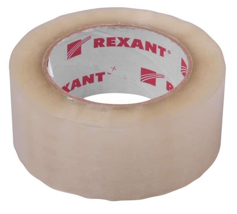 Скотч упаковочный 48ммx66м 50мкм прозр. Rexant 09-4202