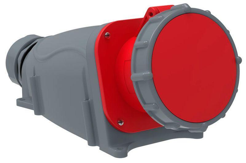 Розетка ОП Magnum 125А 200/346-240/415В 3P+PE+N 6ч ССИ-145 IP67 IEK PSN12-125-5