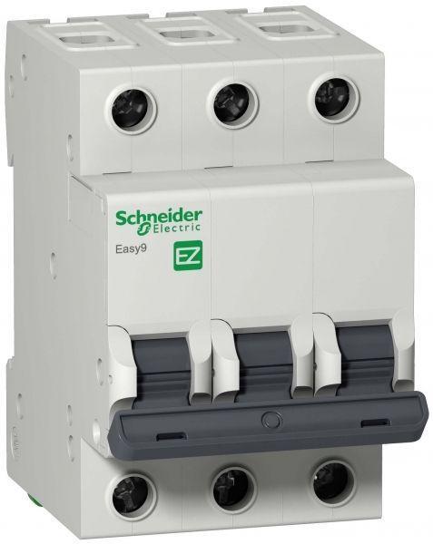 Выключатель автоматический модульный 3п B 16А 4.5кА EASY9 =S= SchE EZ9F14316