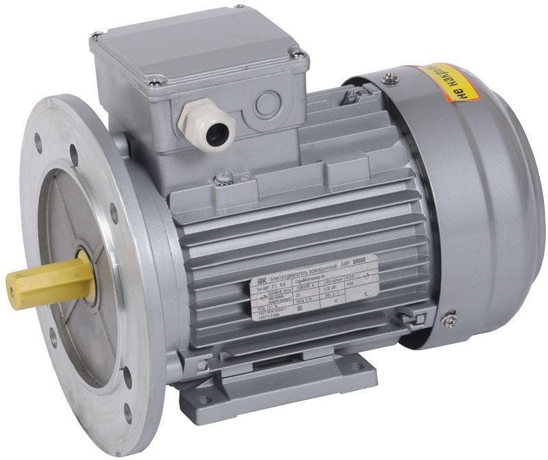 Электродвигатель АИР DRIVE 3ф 71B2 380В 1.1кВт 3000об/мин 2081 IEK DRV071-B2-001-1-3020