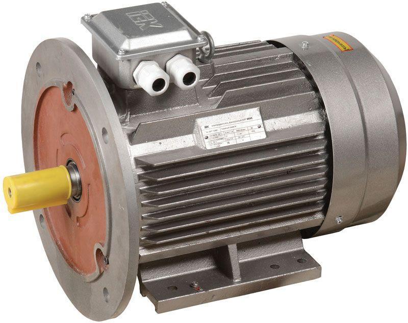 Электродвигатель АИР DRIVE 3ф 132S4 380В 7.5кВт 1500об/мин 2081 IEK DRV132-S4-007-5-1520