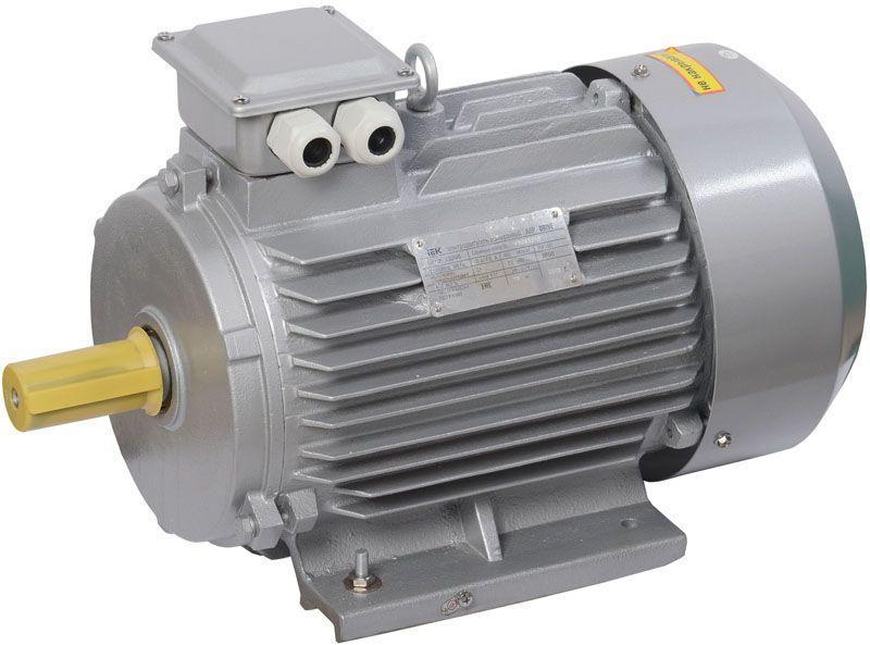 Электродвигатель АИР DRIVE 3ф 132M2 380В 11кВт 3000об/мин 1081 IEK DRV132-M2-011-0-3010