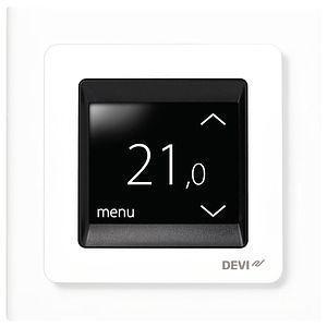 Терморегулятор DEVIreg Touch с комбинацией датчиков 16А бел. DEVI 140F1064