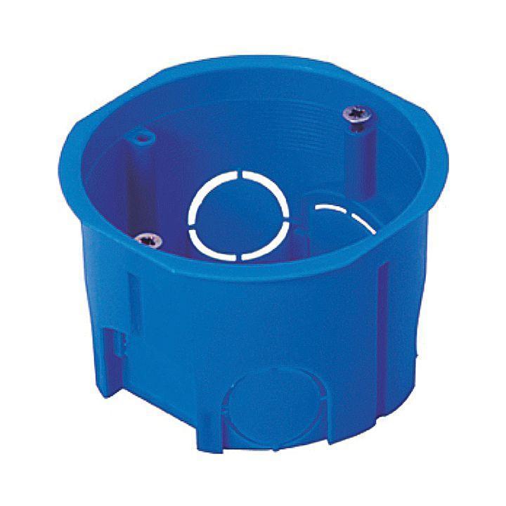 Коробка установочная КМТ-010-033 для твердых стен 68х45 полипропилен винты IP20 EKF plc-kmt-010-033