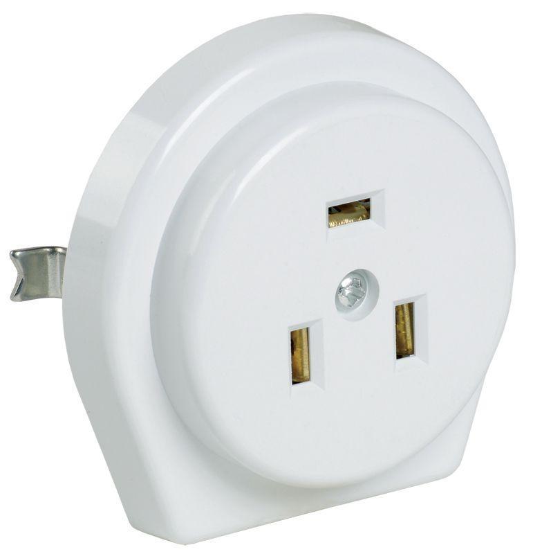 Розетка 1-м СП РПпл11-01-Ст 32А IP20 разборная с заземл. для плиты бел. IEK ERP11-32-01-K01