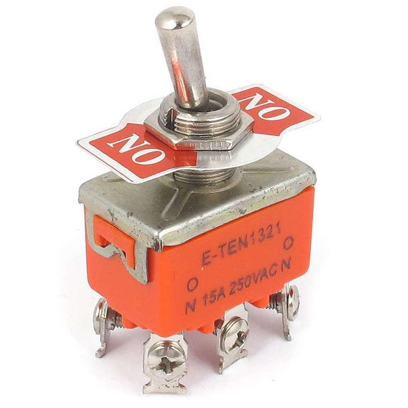 Тумблер 250В 15А (4c) ON-OFF 2п (KN-201) Rexant 36-4130