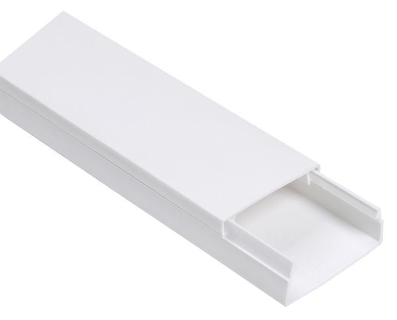Кабель-канал 60х40 L2000 пластик ECOLINE IEK CKK11-060-040-1-K01-018