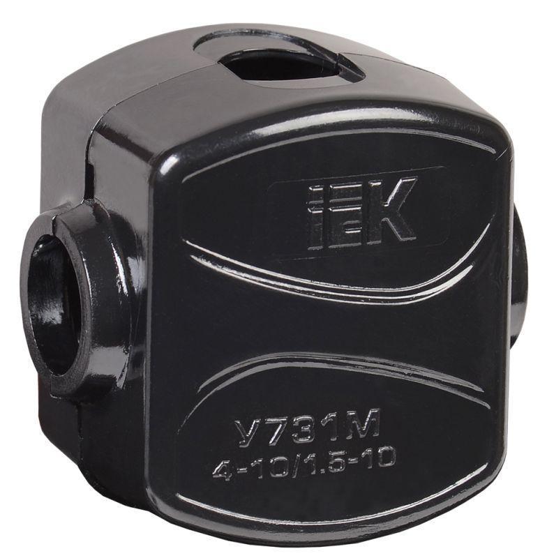 Зажим ответвительный У-731М (4-10/1.5-10кв.мм) IP20 IEK UKZ-ZO-731M