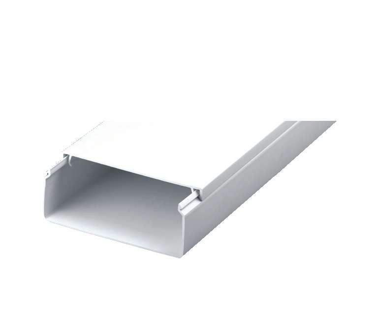 Кабель-канал 100х40 L2000 пластик с двойным замком УралПак КК-19100040-024