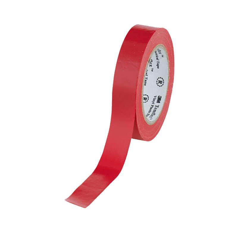 Изолента ПВХ 15мм Temflex 1300 красн. (рул.10м) 3М 7100080350