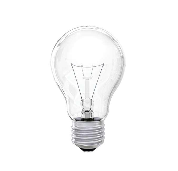 Лампа накаливания 71 662 OI-A-60-230-E27-CL 60Вт E27 220-230В ОНЛАЙТ 71662