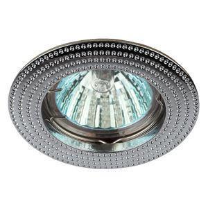 Светильник KL55 CH 50Вт MR16 12В/220В точечный литой хром. ЭРА Б0017099