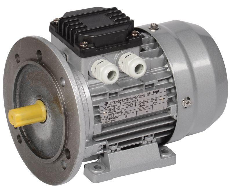 Электродвигатель АИР DRIVE 3ф 56B2 380В 0.25кВт 3000об/мин 2081 IEK DRV056-B2-000-3-3020
