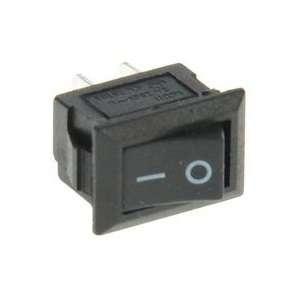Выключатель клавишный 250В 3А (2с) ON-OFF черн. Micro (RWB-101) Rexant 36-2010