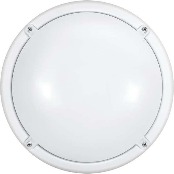 Светильник светодиодный 71 622 OBL-R1-7-4K-WH-IP65-LED-SNRV 7Вт 4000К IP65 (оптико-акустич. датчик) ОНЛАЙТ 71622