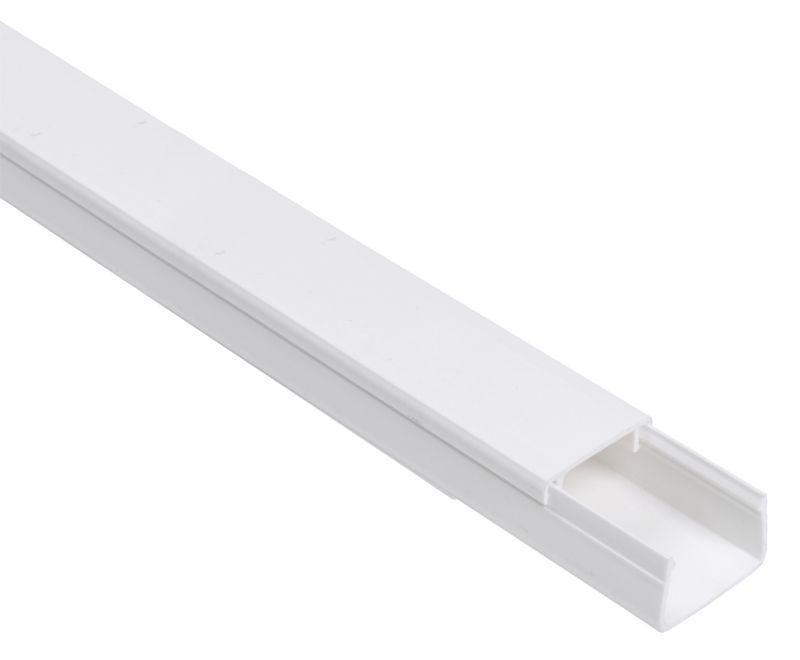 Кабель-канал 20х10 L2000 пластик ЭЛЕКОР IEK CKK10-020-010-1-K01