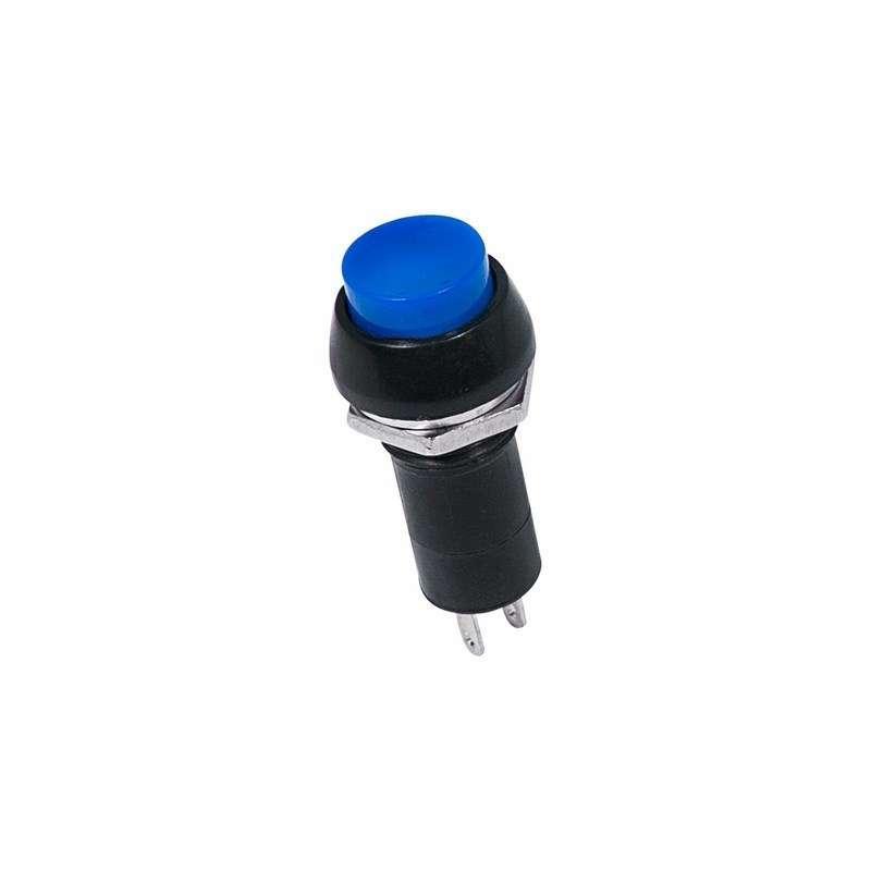 Выключатель-кнопка 250В 1А (2с) ON-OFF син. (PBS-11А) Rexant 36-3031