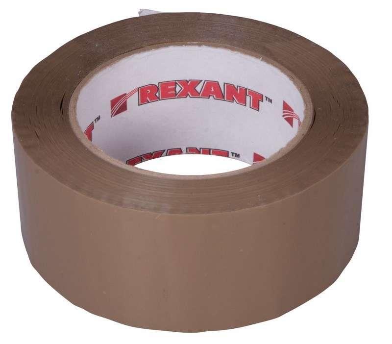 Скотч упаковочный 48ммх150м 50мкм корич. REXANT 09-4214