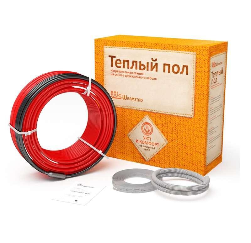 Комплект Теплый пол; (кабель) WSS 7.0м/100 Вт Warmstad 2206176