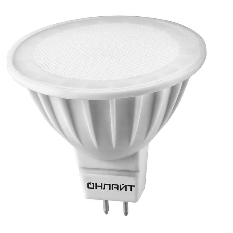Лампа светодиодная 61 890 OLL-MR16-10-230-4K-GU5.3 10Вт ОНЛАЙТ 61890