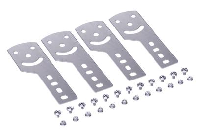 Пластина крепежная GSV H50 (4шт) в комплекте с крепежными элементами для монтажа DKC 30013K