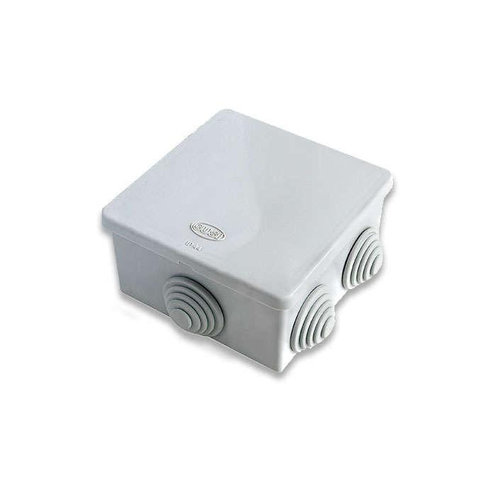 Коробка распределительная ОП 80х80х40мм IP54 сер. ГУСИ С3В86 Евро