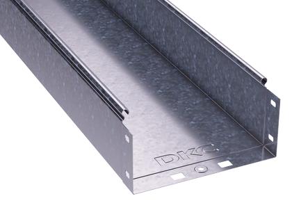 Лоток листовой неперфорированный 200х100 L3000 сталь 0.8мм DKC 35103