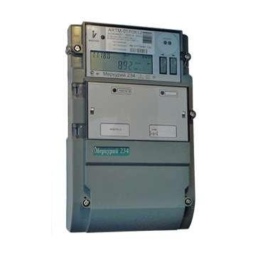Счетчик ;Меркурий; 234 ARTM-02 PBR.G 3ф 5-100А 1.0/2.0 класс точн. многотариф. оптопорт RS485 GSM ЖКИ винт. Моск. вр. Инкотекс М0000052001