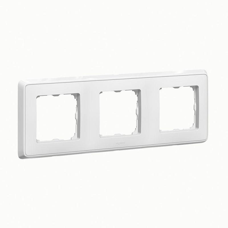 Рамка 3-м Cariva бел. Leg 773653