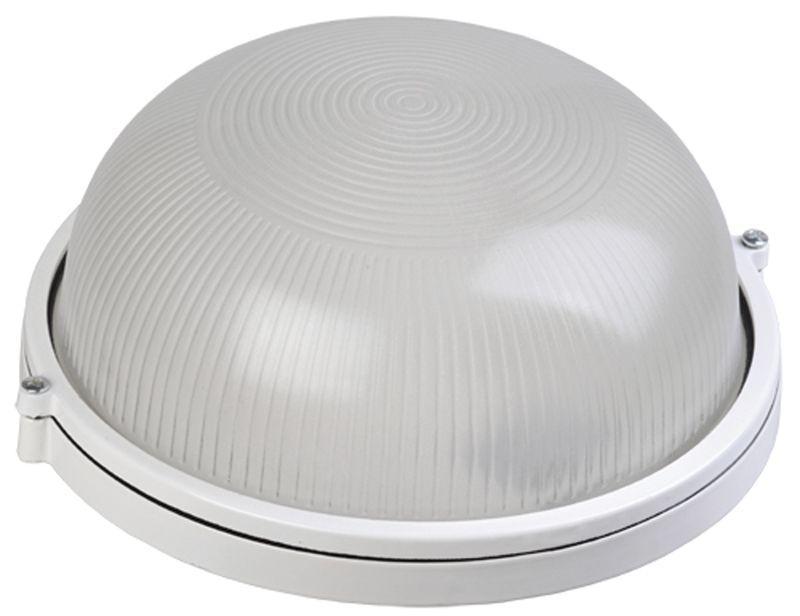 Светильник НПП 1301 60Вт E27 IP54 бел. круг IEK LNPP0-1301-1-060-K01
