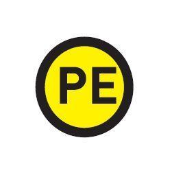 Наклейка PE d20мм EKF an-2-08
