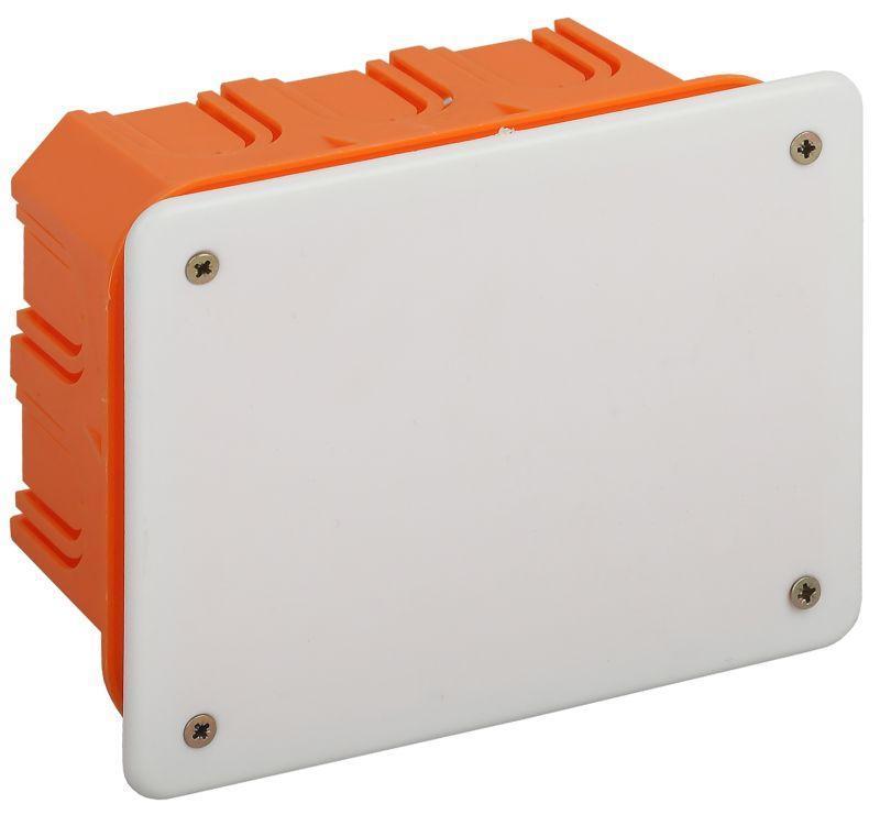Коробка распаячная KRT 120х92х45мм для твердых стен саморез. крышка IP20 Эра Б0047257