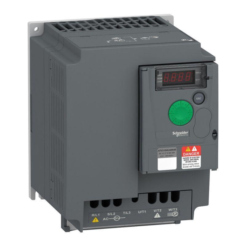 Преобразователь частоты ATV310 4кВт 380В 3ф SchE ATV310HU40N4E