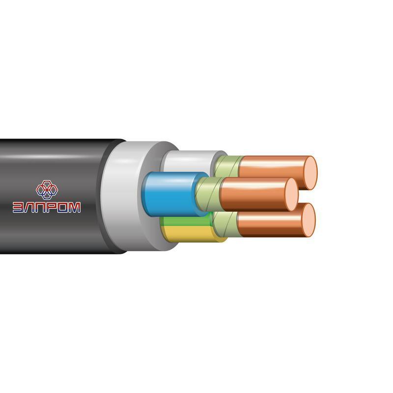 Кабель ВВГнг(А)-FRLS 3х1.5 (N PE) 0.66кВ (м) Элпром НТ000005119