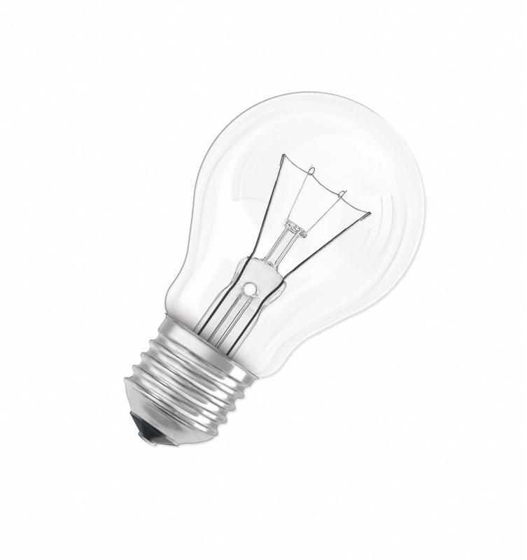 Лампа накаливания CLASSIC A CL 40Вт E27 220-240В OSRAM 4008321788528