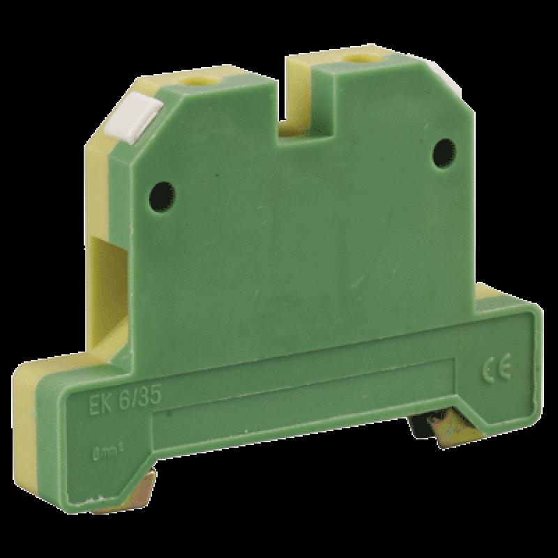 Зажим наборный ЗНИ-35PEN 35кв.мм (JXB-земля) IEK YZN20-035-K52