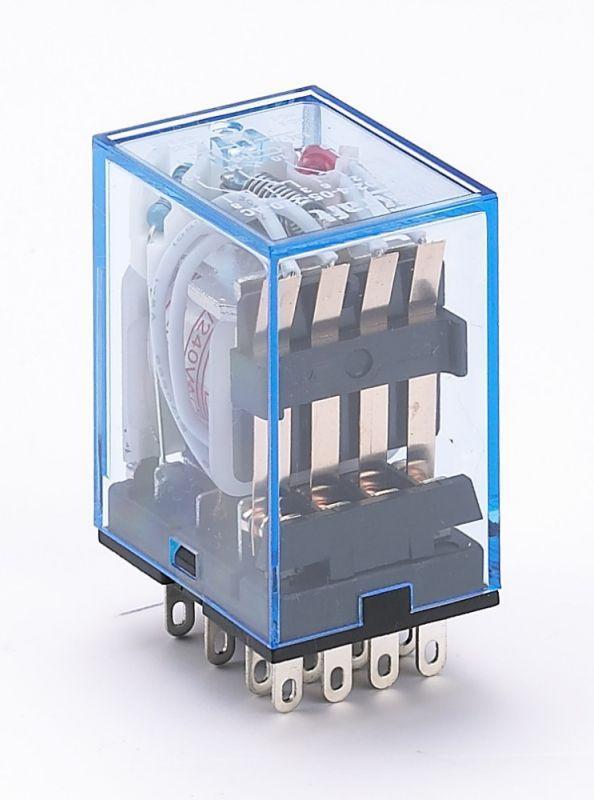 Реле промежуточное ПР-102 4 конт. с инд. LED 3А 220В AC SchE 23230DEK
