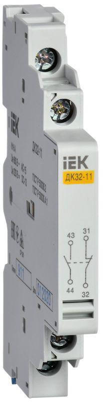 Контакт дополнительный 1НО+1НЗ ДК32-11 IEK DMS11D-AU11