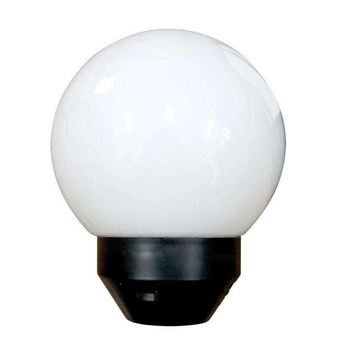 Светильник НТУ 06-40-01 Шар d160 Г IP55 опал ПММА /корпус черный Элетех 1030480082