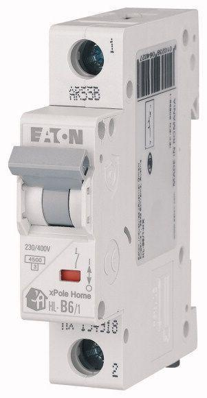 Выключатель автоматический модульный 1п C 20А 4.5кА HL-C20/1 EATON 194732