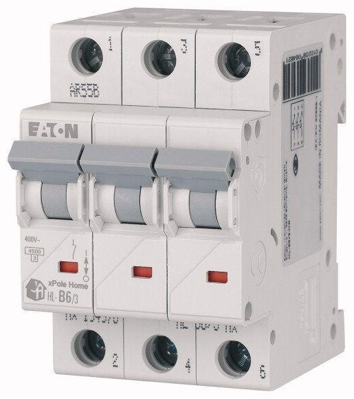 Выключатель автоматический модульный 3п C 40А 4.5кА HL-C40/3 EATON 194795